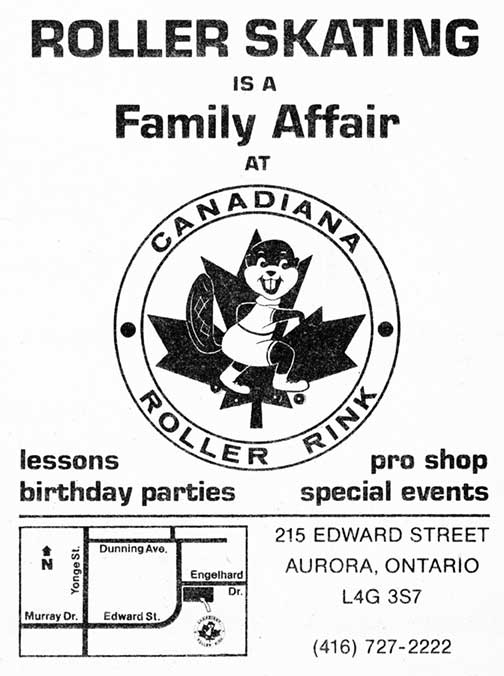 1980 81 ad for canadiana rink